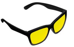 lunettes verres jaunes contraste pour conduite de nuit look vintage