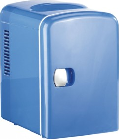 Mini réfrigérateur 2 en 1 avec prise 12 / 230 V - bleu