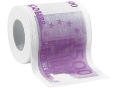 Papier toilette ''500 €''