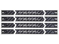 lot de 4 grandes barres de fixation magnétiques 61 cm pour outils