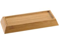 Support en bambou pour pierre à aiguiser