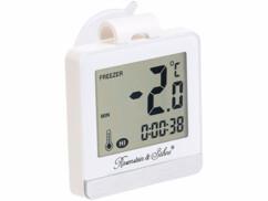 Thermomètre digital pour réfrigérateur & congélateur avec mémoire