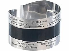 Thermomètre pour bouteille de vin