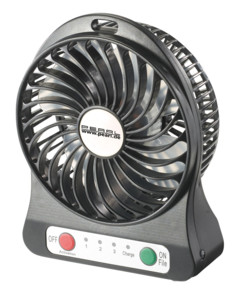 Ventilateur de table sans fil USB 2 en 1