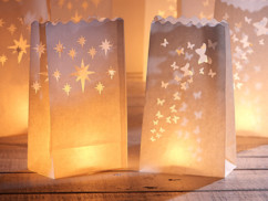 10 Photophores décoratifs en papier
