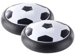 2 ballons de football aéroglisseurs d'intérieur