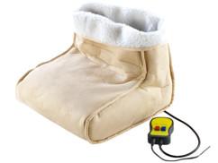Chauffe-pieds massant, avec télécommande