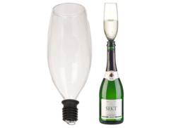 Embout pour bouteille en forme de flûte à champagne