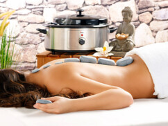 Kit de massage ''Hot Stones''