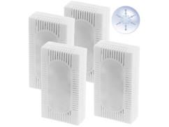 4 absorbeurs d'humidité pour réfrigérateur