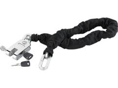 Antivol de moto avec chaîne en acier