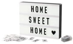 panneau lumineux à lettres style cinéma avec 100 caractères pour décoration moderne