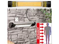 Chauffage radiant infrarouge d'extérieur - 2000 W
