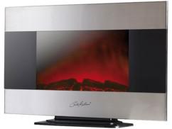 Cheminée électrique design 2000 W, 90 x 56 cm
