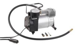 mini compresseur automobile avec prise allume cigare avec manometre 10bar 35l par minute lescars