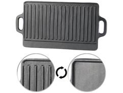 Plaque-gril de cuisson en fonte - 46 x 23 cm
