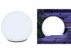 Boule lumineuse à LED solaire Ø 9 cm