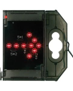 Caractère spécial lumineux à LED - '' Flèche droite '' rouge
