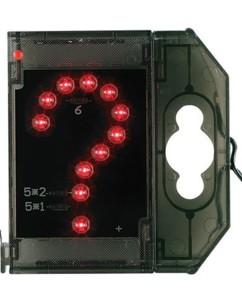 Caractère spécial lumineux à LED - '' ? '' rouge