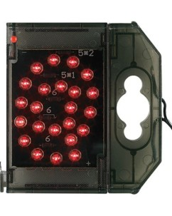 Caractère spécial lumineux à LED - '' @ '' rouge