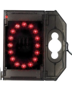 Chiffre lumineux à LED - ''0'' rouge