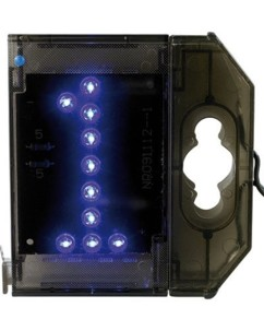 Chiffre lumineux à LED - ''1'' bleu