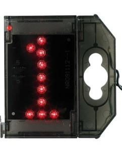 Chiffre lumineux à LED - ''1'' rouge