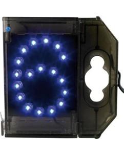 Chiffre lumineux à LED - ''6'' bleu