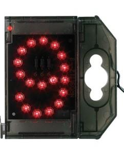 Chiffre lumineux à LED - ''9'' rouge