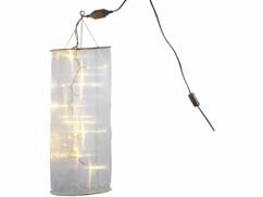 Tuyau lumineux Organza avec 20 LED blanc chaud.