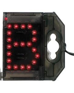Lettre lumineuse à LED - ''B'' rouge