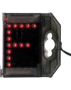 Lettre lumineuse à LED - ''F'' rouge