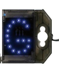 Lettre lumineuse à LED - ''G'' bleu