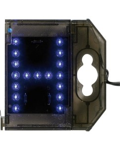 Lettre lumineuse à LED - ''H'' bleu