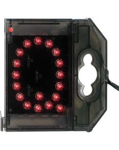 Lettre lumineuse à LED - ''Q'' rouge