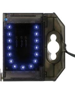 Lettre lumineuse à LED - ''U'' bleu