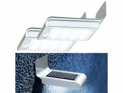 2 appliques murales solaires avec capteur PIR et capteur d'obscurité - Deluxe