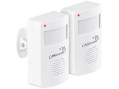 2 détecteurs de passage avec capteur PIR DGM-70