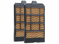 2 filtres de rechange pour rafraîchisseurs d'air LW-440.w/450/480.wlan/580