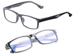 2 lunettes de protection anti-lumière bleue +3,5 dioptries avec protection UV400