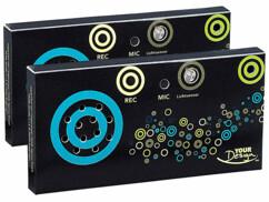 2 modules sonores pour paquet cadeau