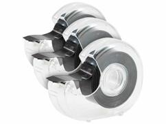 Trois rubans adhésifs magnétiques avec dérouleur.