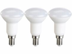 Pack de 3 spots LED E14 réflecteur R50  Luminea.