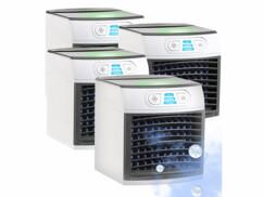 4 rafraîchisseurs d'air et humidificateurs avec lumière d'ambiance LW-110