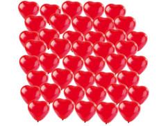40 Ballons en coeur