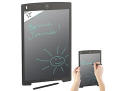 """Ardoise tablette LCD 12"""" avec stylet"""