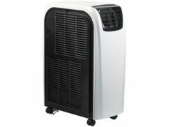 Caractéristiques énergétique du climatiseur mobile 12000 BTU/h par Sichler Exclusive.