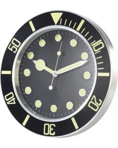 Horloge murale radio pilotée design sport rétro