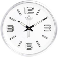 Horloge radio-pilotée avec chiffres phosphorescents Ø 30 cm