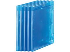 Lot de 10 boîtiers fins transparents pour Blu-ray, pour 2 disques chacun